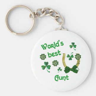World's best Aunt Key Ring
