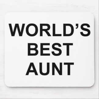 World's Best Aunt Mouse Mat
