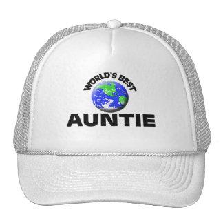 World's Best Auntie Cap