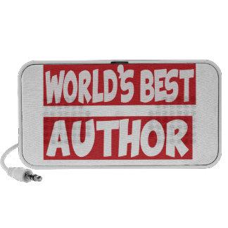 World's best Author. Speakers