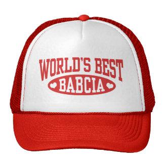 World's Best Babcia Cap