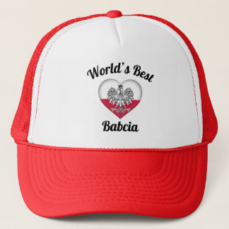 World's Best Babcia Hat