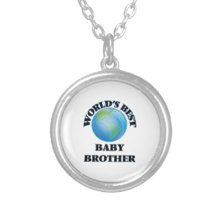World's Best Baby Brother Pendant