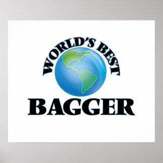 World's Best Bagger Poster
