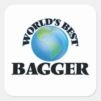 World's Best Bagger Sticker