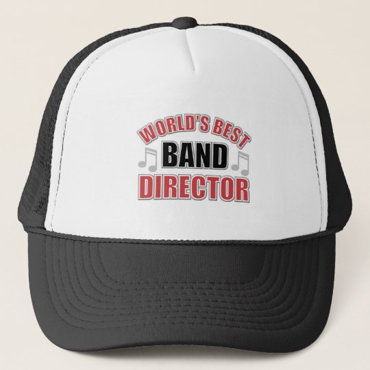 World's Best Band Director Hat