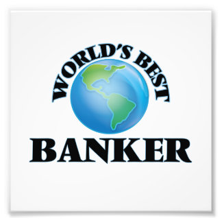 World's Best Banker Photo