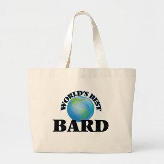 World's Best Bard Canvas Bag
