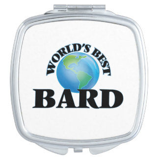 World's Best Bard Compact Mirrors