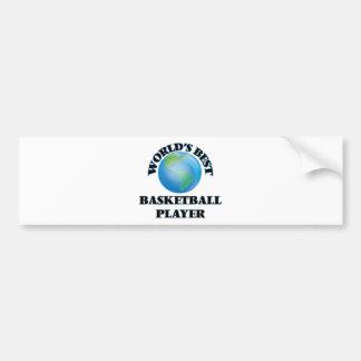 World's Best Basketball Player Bumper Stickers