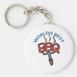 WORLDS BEST BBQ KEY CHAIN