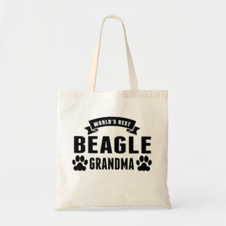 World's Best Beagle Grandma Budget Tote Bag