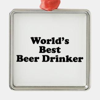 World's Best Beer Drinker Christmas Ornament