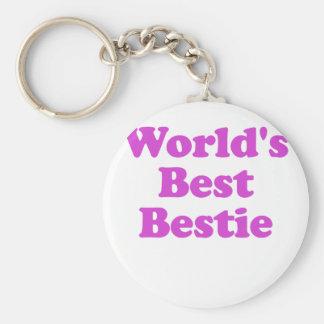 Worlds Best Bestie Key Ring