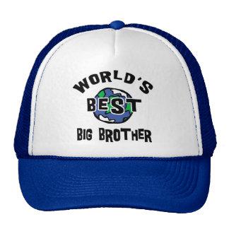 World's Best Big Brother Cap