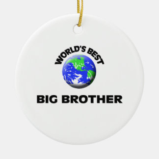 World's Best Big Brother Christmas Ornament