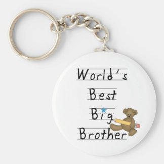 World's Best Big Brother Key Ring