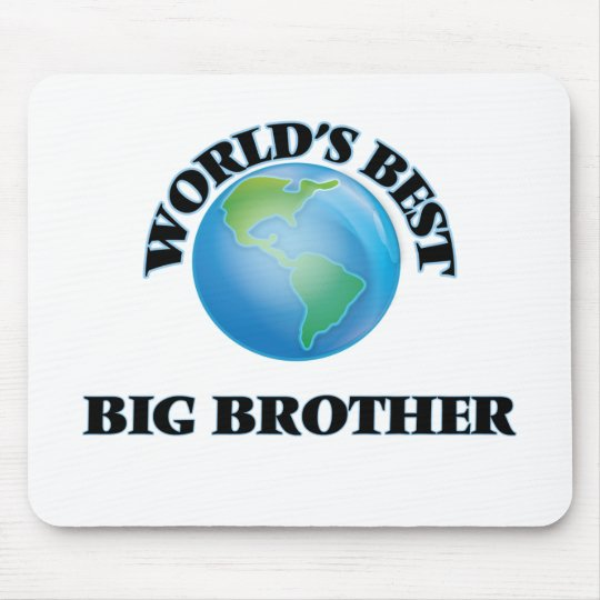 World's Best Big Brother Mouse Mat