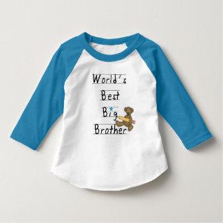 World's Best Big Brother Tee Shirt