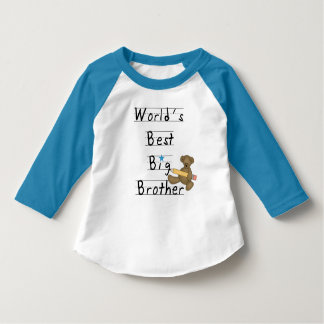 World's Best Big Brother Tee Shirts