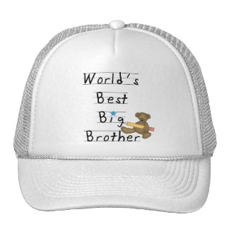 World's Best Big Brother Tshirts and Gifts Trucker Hats