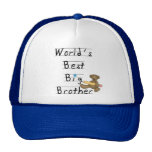 World's Best Big Brother Tshirts and Gifts Trucker Hat