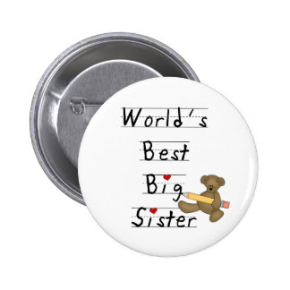 World's Best Big Sister Button