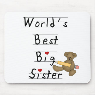 World's Best Big Sister Mouse Mat