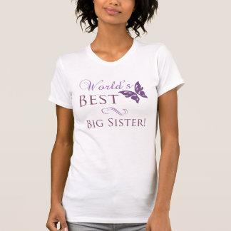 World's Best Big Sister Tee Shirt