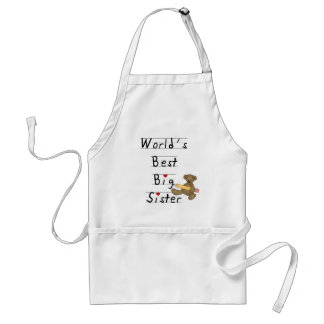 World's Best Big Sister Tshirts and Gifts Standard Apron