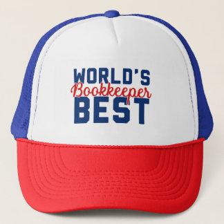 World's Best Bookkeeper Trucker Hat