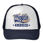 Worlds Best Boss Cap