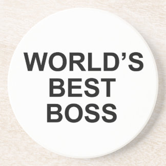 World's Best Boss coaster