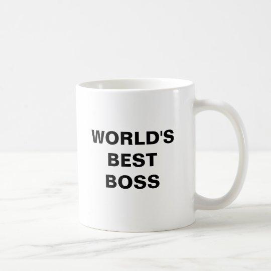 World's Best Boss Coffee Mug