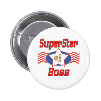 World's Best Boss Gifts 6 Cm Round Badge