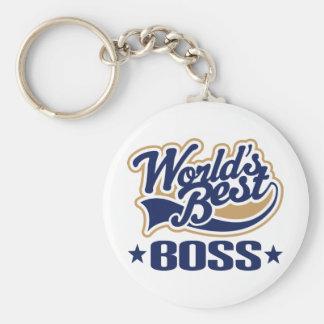 Worlds Best Boss Key Chains