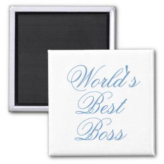 Worlds Best Boss Magnet