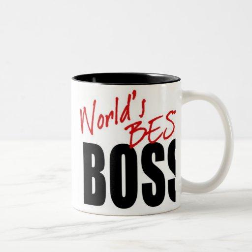 WORLD'S BEST BOSS - mug