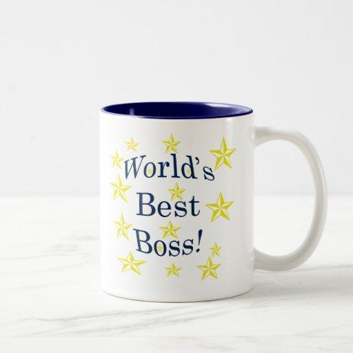 Worlds Best Boss Mugs