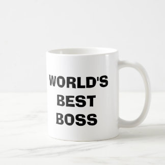 WORLD'S BEST BOSS MUGS