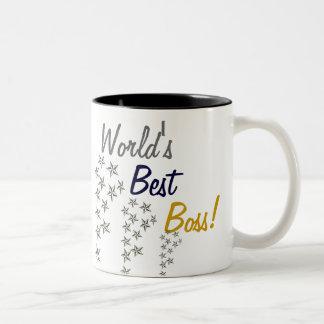 World's Best Boss Two-Tone Mug