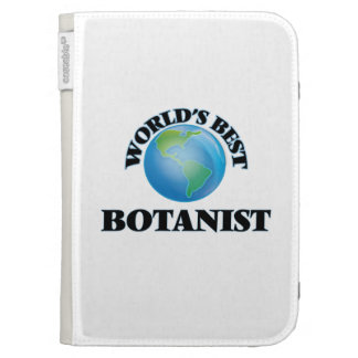 World's Best Botanist Kindle Keyboard Covers