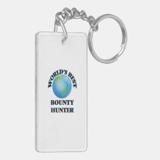 World's Best Bounty Hunter Rectangle Acrylic Keychains