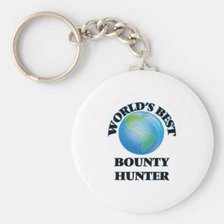 World's Best Bounty Hunter Keychain