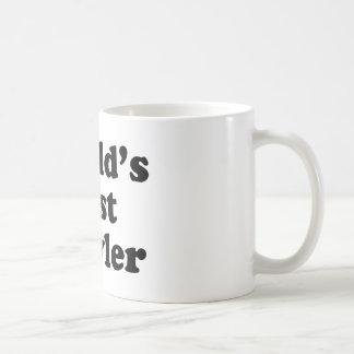 World's Best Bowler Basic White Mug