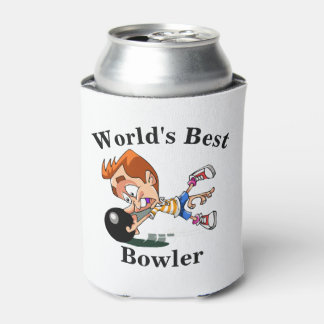 World's Best Bowler Can Cooler