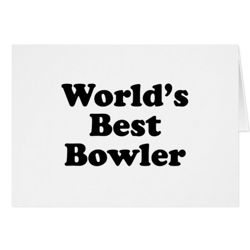 World's Best Bowler Cards