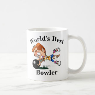 World's Best Bowler Coffee Mug