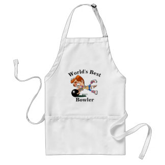 World's Best Bowler Standard Apron
