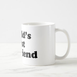 World's Best Boyfriend Basic White Mug